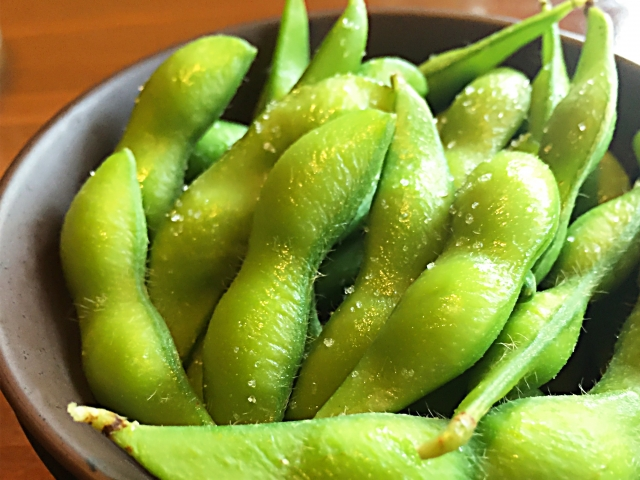 夏バテ対策に枝豆