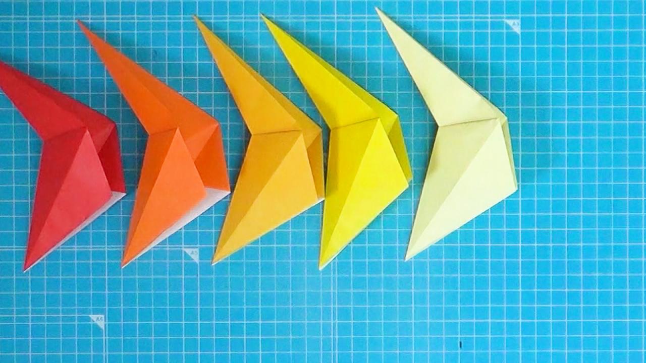 5つのパーツを折ります。