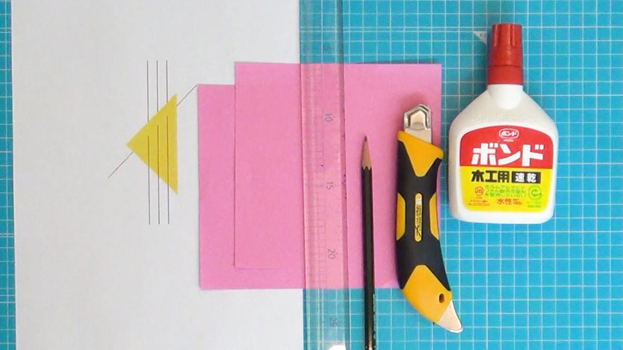 手作りオーナメントの材料と道具